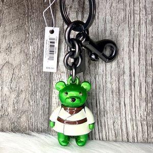 Coach x Star Wars Yoda Bear Key Bag Charm